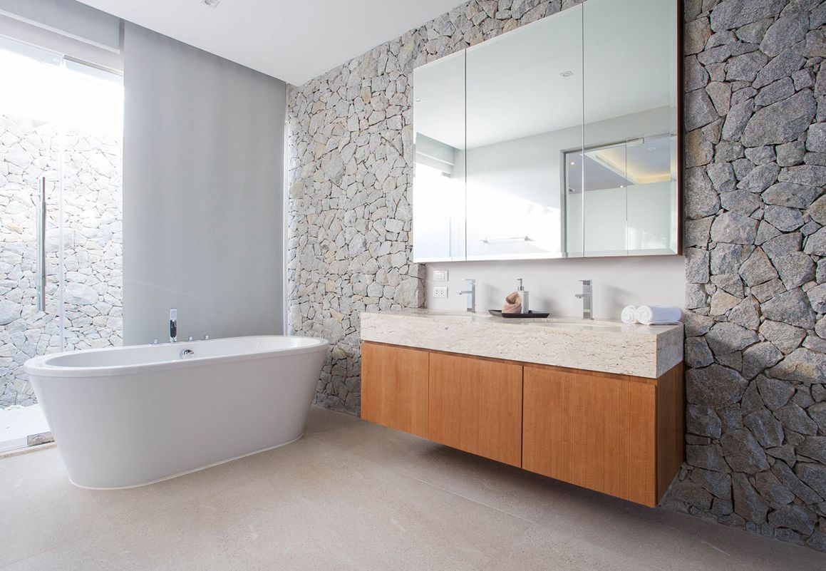 Modern bathroom installation